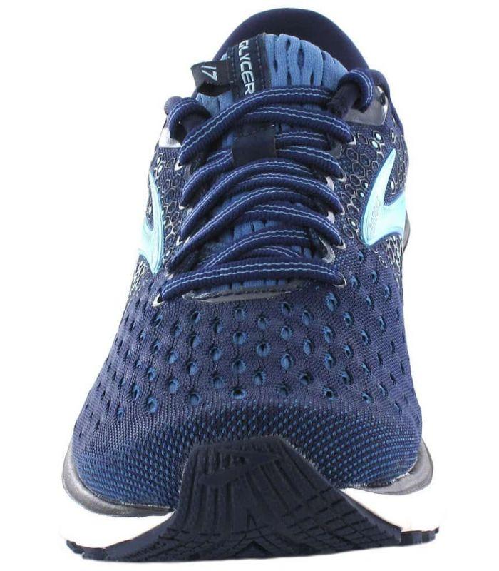 Brooks Glycérine 17 W Bleu - Chaussures Running Femme