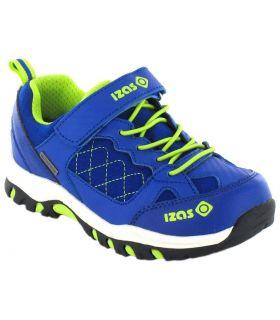 Izas Jesselton Izas de course Chaussures de Trekking enfants Chaussures de Montagne Tailles: 33, 35; Couleur: bleu