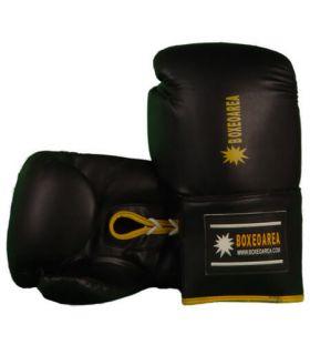 Guantes de Boxeo BoxeoArea 103 BoxeoArea Guantes de Boxeo Boxeo Tallas: 10 oz, 12 oz; Color: negro