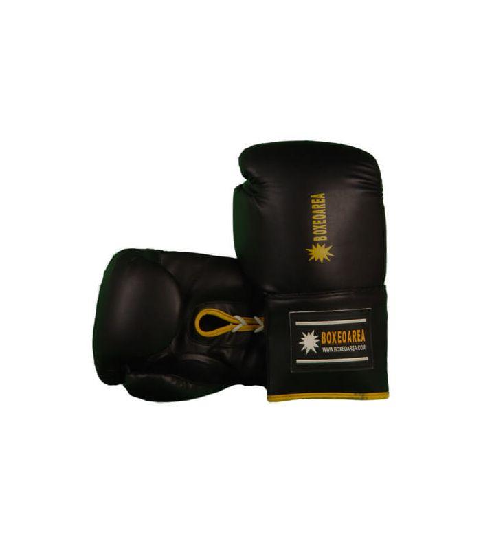 Guantes de Boxeo - Guantes de Boxeo BoxeoArea 103 negro Boxeo