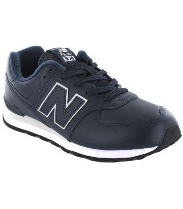 New Balance GC574ERV New Balance Chaussures de mode de Vie Décontracté Tailles Junior: 36, 37, 38, 39, 40; Couleur: bleu marine