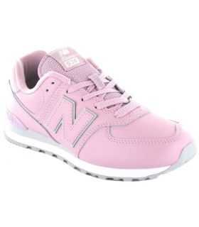 New Balance GC574ERP New Balance Shoes Casual Lifestyle Junior Sizes: 36, 37, 38, 39, 40; Color: pink