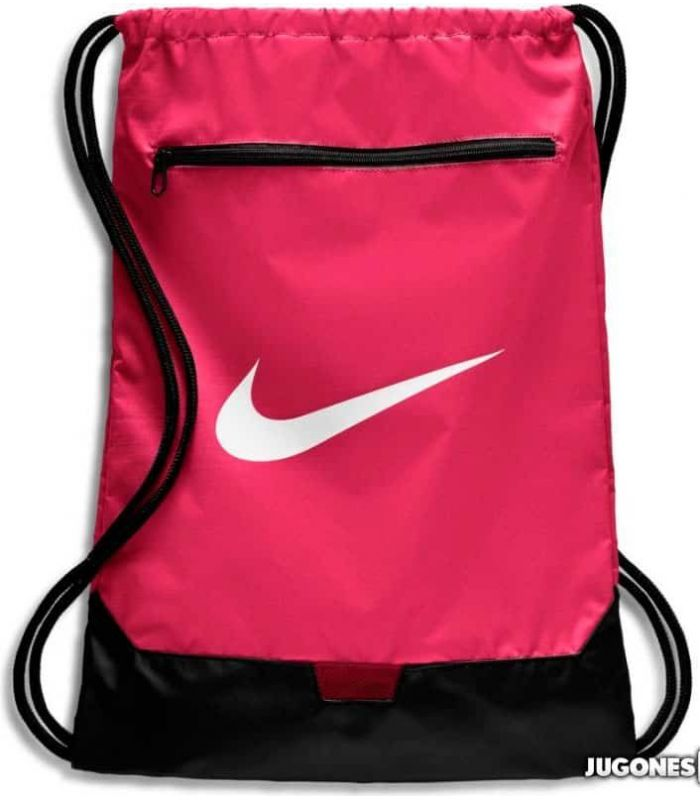 Nike Brasilia GymSack Fucsia - Mochilas - Bolsas
