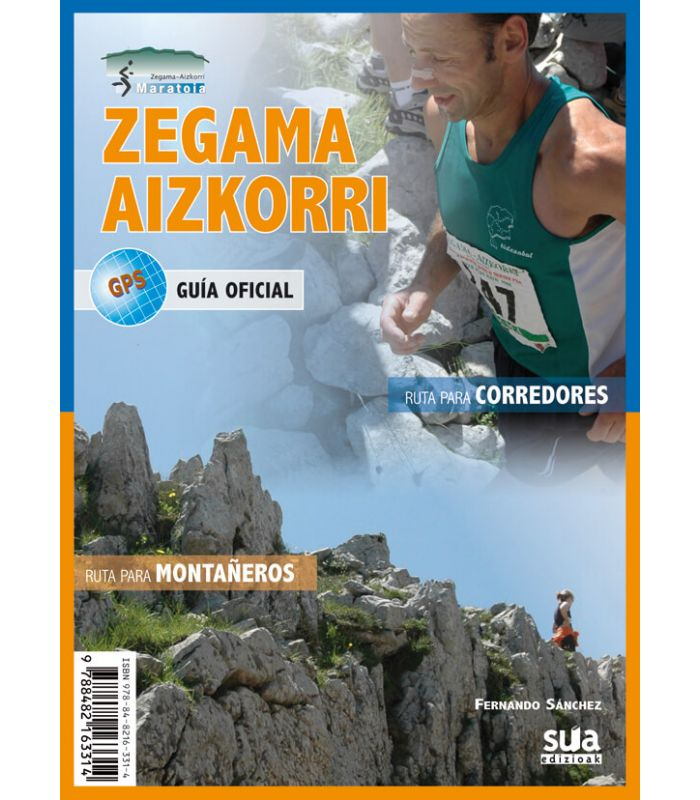 Libreria - Guia Zegama-Aizkorri azul Productos Zegama-Aizkorri