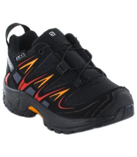 Salomon XA PRO 3D CSWP K Black Salomon Trail running Shoes Running Junior running Shoes Trail Running Sizes: 27, 28, 30, 26;