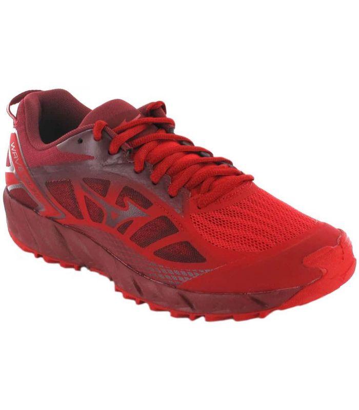 Zapatillas Trail Running Hombre - Mizuno Wave Ibuki 2 Rojo rojo Zapatillas Trail Running