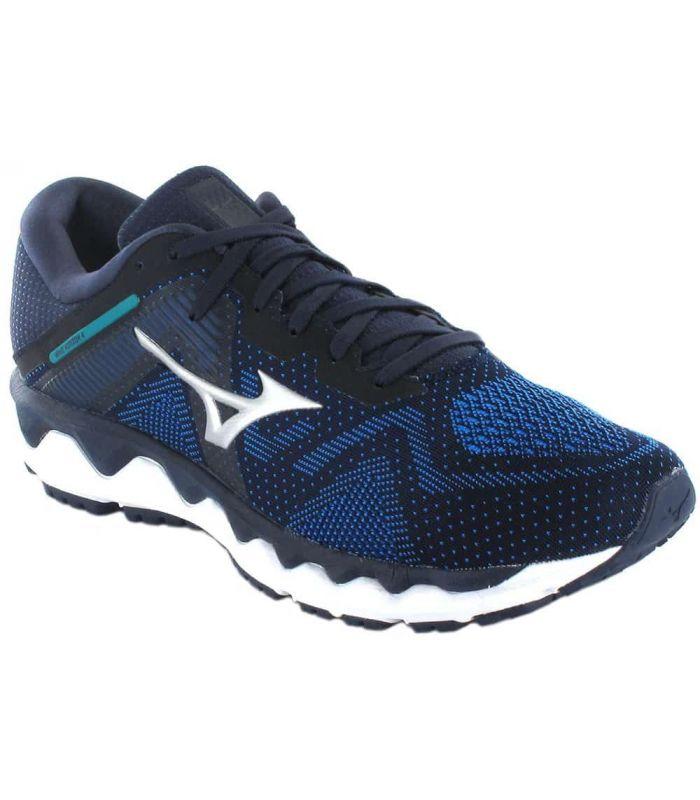 Mizuno Wave Horizon 4 Blue - Mens Running Shoes