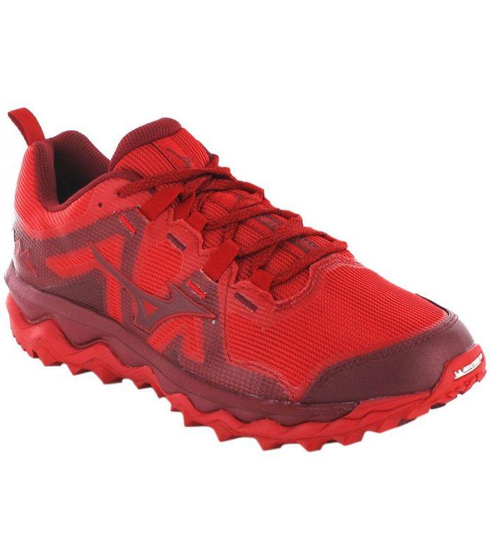 Zapatillas Trail Running Hombre - Mizuno Wave Mujin 6 Rojo rojo Zapatillas Trail Running