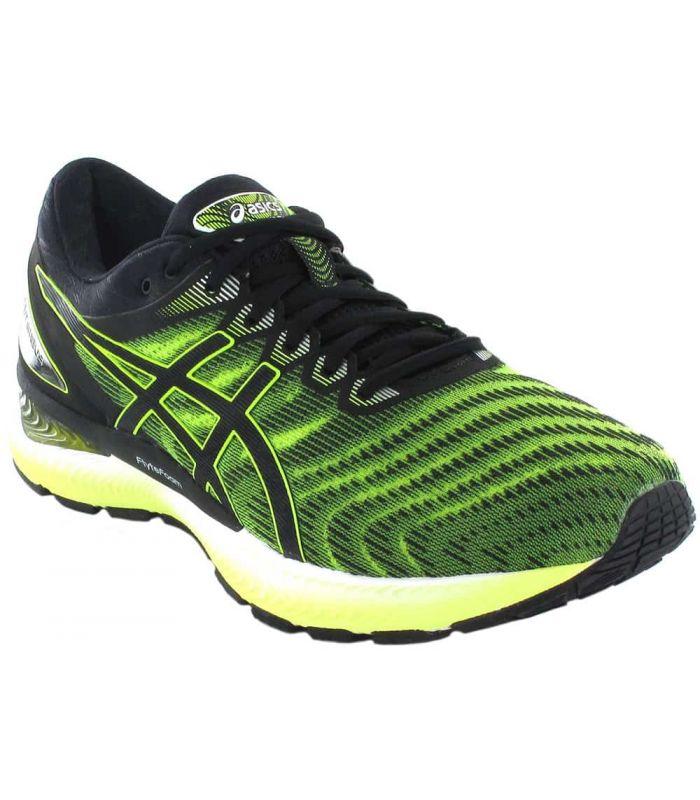 Asics Gel Nimbus 22 Lime Asics Mens Running Shoes Running Shoes Running Sizes: 41,5, 42, 42,5, 43,5, 44, 44,5, 45
