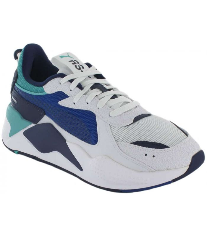 Puma RS-X Hard Drive-White Puma Casual Shoe Mens Lifestyle Sizes: 41, 42, 43, 44, 45, 46, 44,5; Color: white