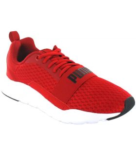 Puma Wired Puma Shoes Casual Man Lifestyle Sizes: 40,5, 41, 43, 44, 44,5, 45, 46, 42,5; Color: red