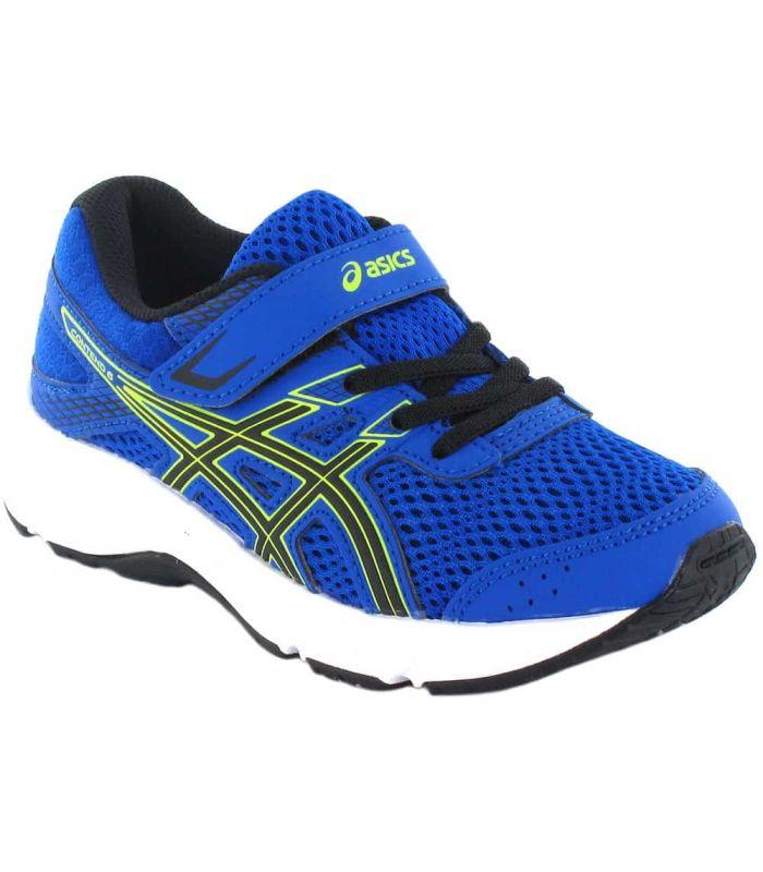piano precoz Zapatos antideslizantes  Asics Gel Contend 6 PS Blue