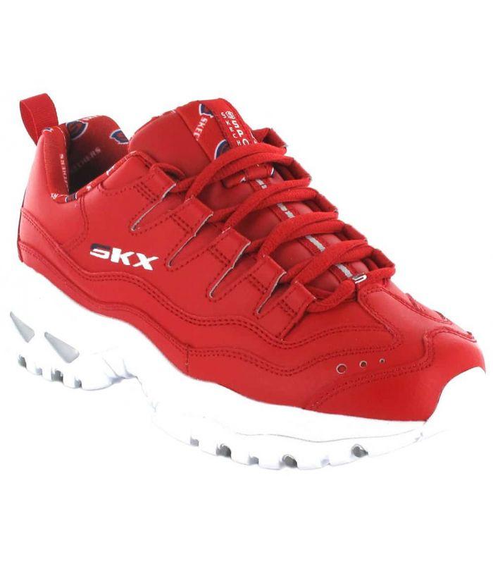 Skechers Energy Retro Vision Red - Casual Footwear Woman