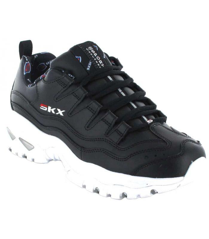 Calzado Casual Mujer - Skechers Energy Retro Vision Negro negro Lifestyle