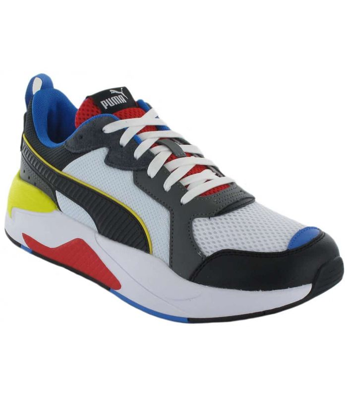 Puma X-Ray White Puma Shoes Casual Man Lifestyle Sizes: 41, 42, 43, 44, 45, 46; Color: white