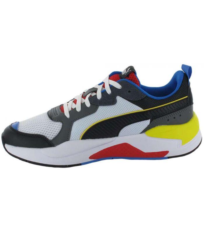 Puma X-Ray White Puma Shoes Casual Man Lifestyle Sizes: 41, 42, 43, 44, 45, 46; Color: white