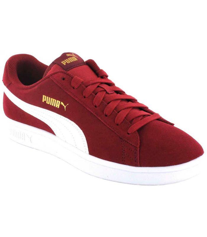 Puma Smash v2 Maroon - Casual Footwear Man