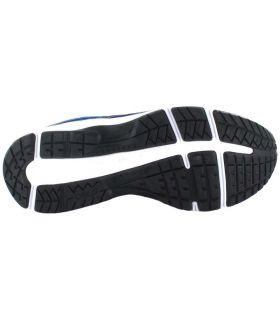 Asics Gel Contend 6 GS Bleu Asics Chaussures de Running Enfant Chaussures de course Running Tailles: 33,5, 34,5, 35,5, 36,
