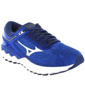 Running Woman Sneakers-Mizuno Wave Skyrise W blue Running Sneakers