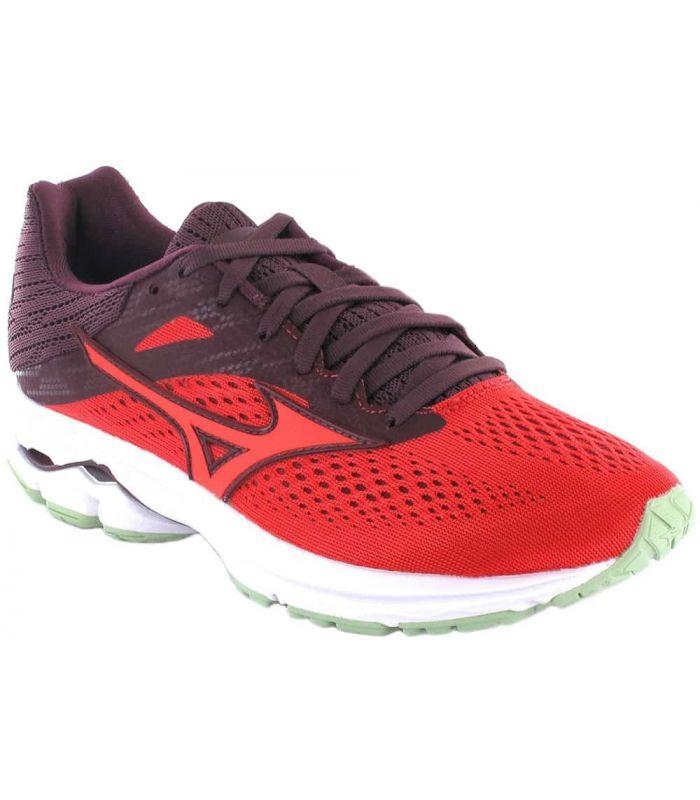 Zapatillas Running Mujer - Mizuno Wave Rider 13 W Rojo rojo Zapatillas Running