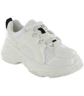 Inégale Chunky Blanc - Casual Chaussure Femme