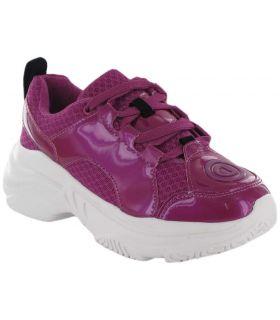 Uneven Chunky Fuchsia - Casual Shoe Woman