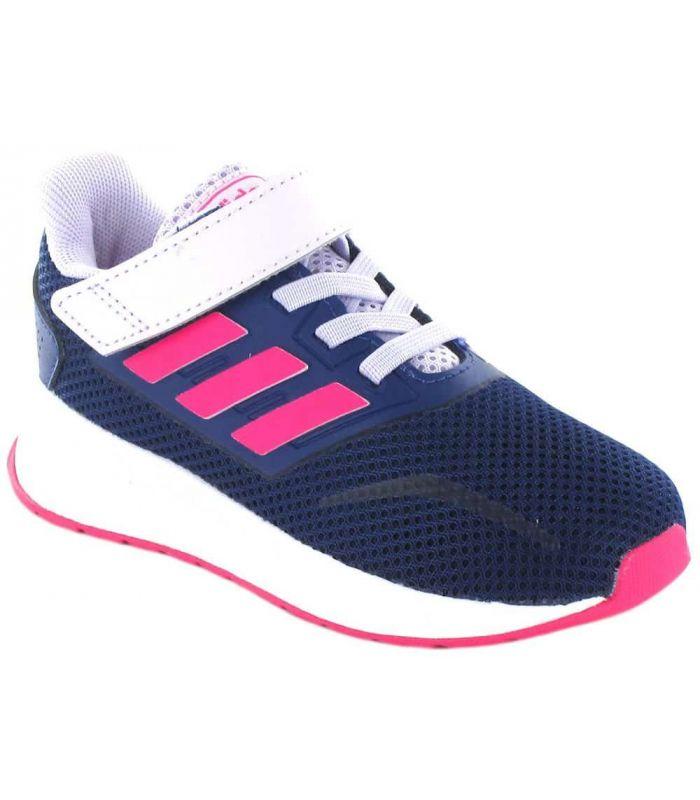 Adidas Run Falcon l Rosa - Zapatillas Running Niño
