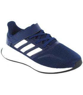 Adidas Run Falcon C Bleu Marine Adidas Chaussures De Running Enfant Chaussures De Course Running Tailles: 28, 29, 30, 31, 32,