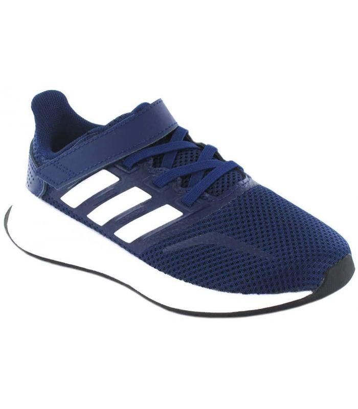 Adidas Run Falcon C Blue Marine - Running Boy Sneakers