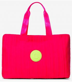 Desigual gym Bag 2 in 1 Fuchsia Desigual Backpacks - Bags Running Color: fuchsia