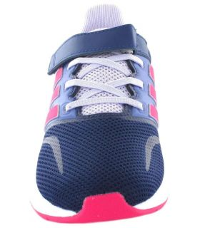 Adidas Run Falcon l Rosa Adidas Zapatillas Running Niño Zapatillas Running Tallas: 22, 23, 24, 25, 26, 27; Color: azul
