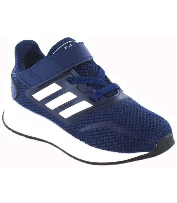 Adidas Run Falcon l Bleu Marine Adidas Chaussures de Running Enfant Chaussures de course Running Tailles: 22, 23, 24, 25, 26,