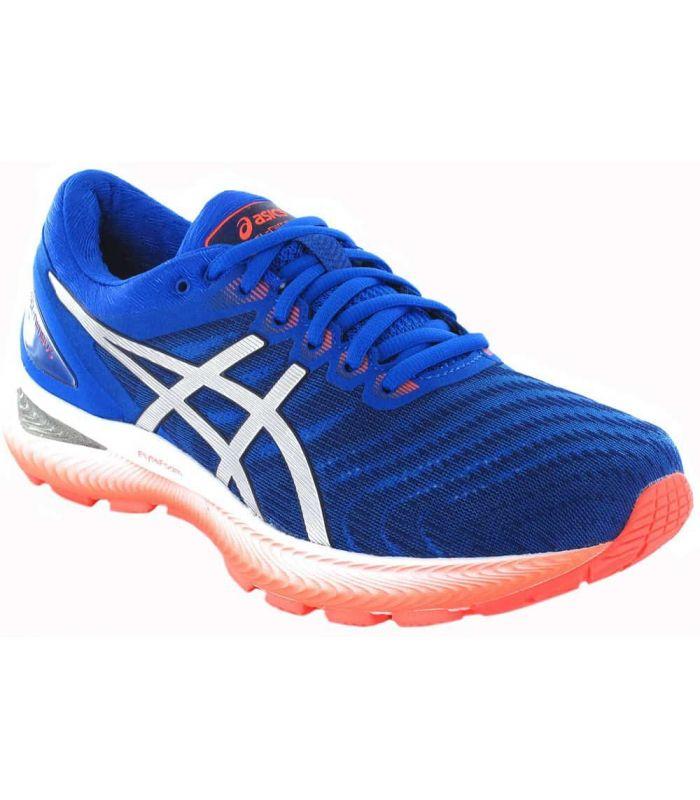 Asics Gel Nimbus 22 Blue Asics Running Shoes Man Running Shoes Running Sizes: 41,5, 42,5, 43,5, 44, 44,5, 45, 46