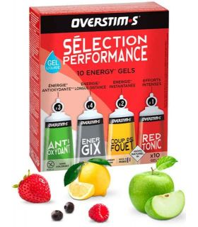Alimentacion Running - Overstims Gel Selección Rendimiento Líquido Running