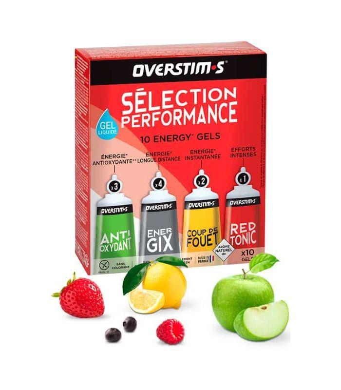 Overstims Gel Selection Performance Liquid - Food Running