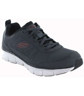 Skechers Synergy 3.0 Skechers Calzado Casual Hombre Lifestyle Tallas: 41, 42, 43, 44, 45, 46; Color: gris
