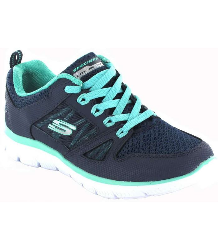 Calzado Casual Mujer - Skechers New World gris Lifestyle