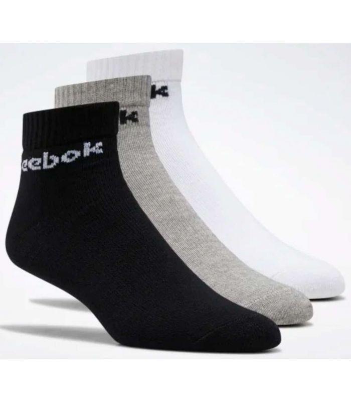 Reebok Chaussettes Tobilleros Noyau Actif Multi Chaussettes Reebok Chaussures De Course Running Tailles: 37 / 39, 40 / 42