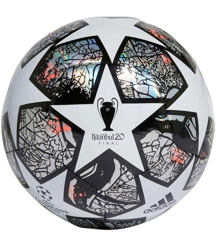 Balones Fútbol - Adidas Balon Champion Final Istanbul 20 blanco Fútbol