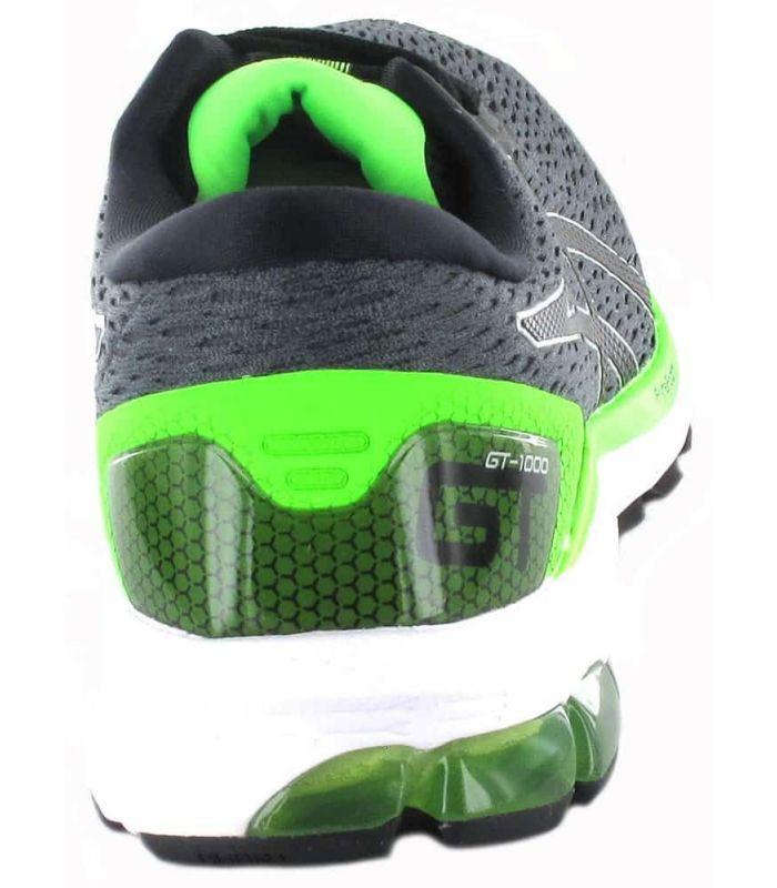 Asics Gel 1000 9 Gris Asics Chaussures De Course De Mens Chaussures De Course Running Tailles: 42, 42,5, 43,5, 44, 44,5, 45, 46