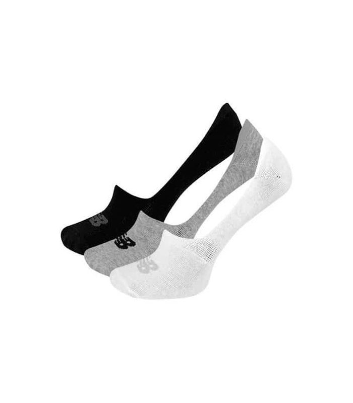 Calcetines Running - New Balance Calcetines No Show Liner 3 Pack Multi gris Zapatillas Running