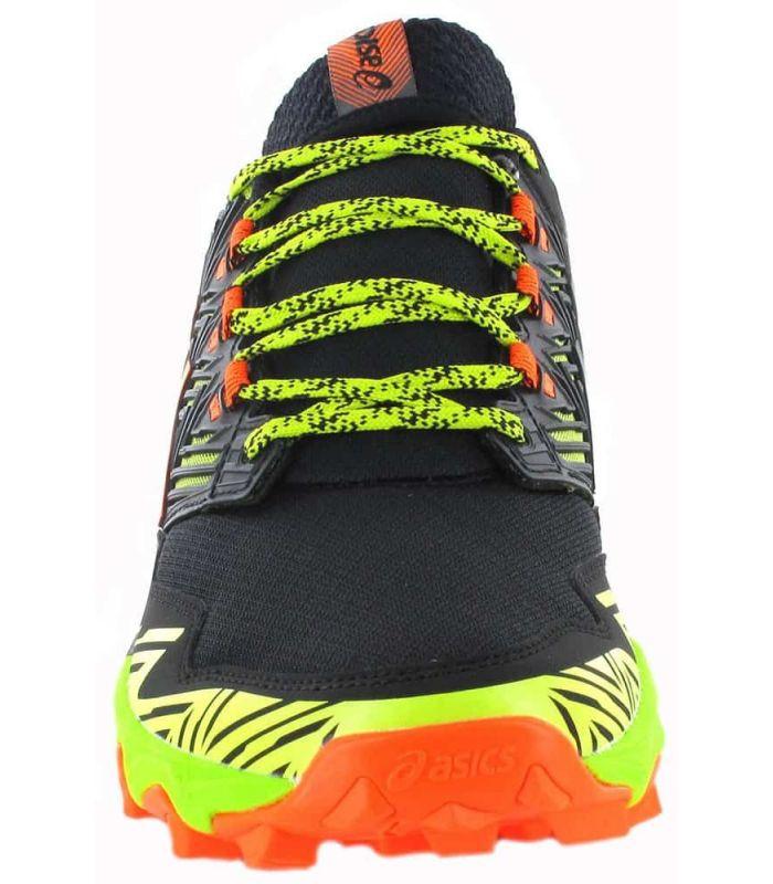 Zapatillas Trail Running Hombre - Asics Gel Fujitrabuco 8 negro Zapatillas Trail Running