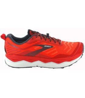 Zapatillas Trail Running Hombre - Brooks Caldera 4 rojo Zapatillas Trail Running