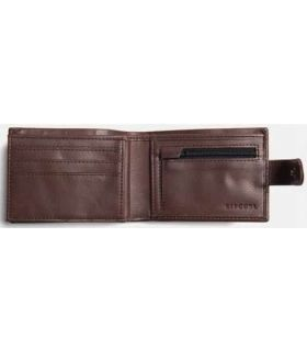 Rip Curl Wallet Horizons PU Clip Slim Brown Rip Curl Porta Documents Travel goods Color: brown