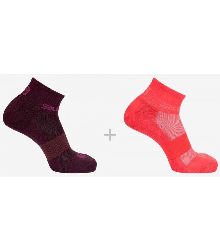 Salomon Socks Evasion 2 Pack 57 - Socks Running