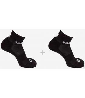 Salomon Socks Evasion 2 Pack Black - Socks Running