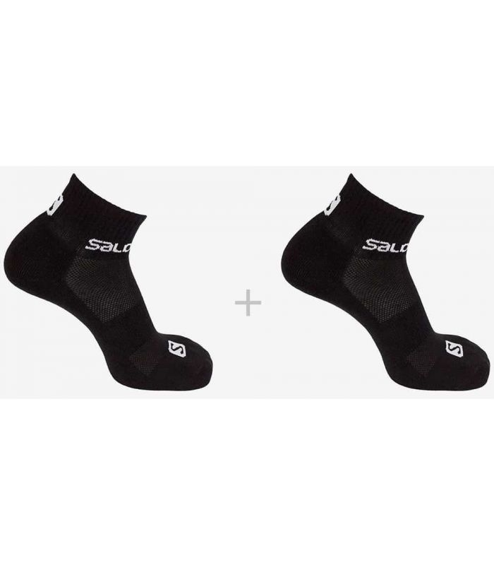 Salomon Calcetines Evasion 2 Pack Negro - Calcetines Running