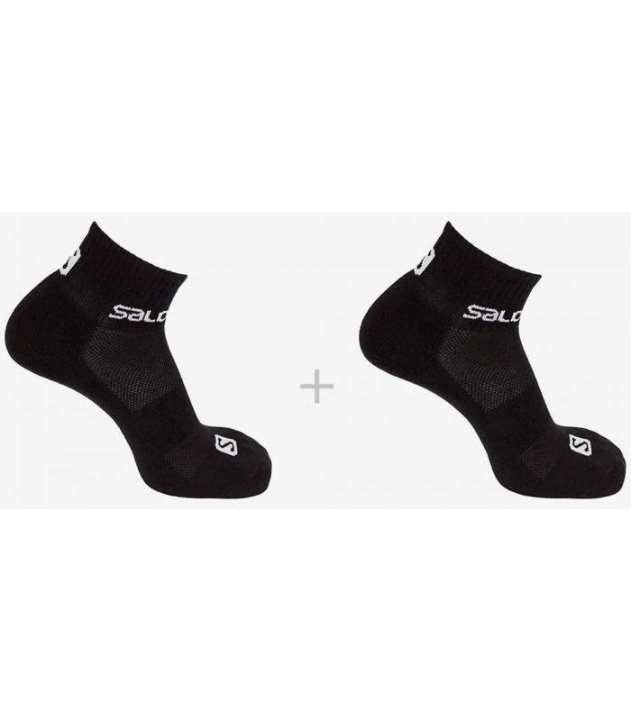 Salomon Socks Evasion 2 Pack Black - Running Socks