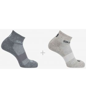Salomon Socks Evasion 2 Pack-Grey - Socks Running