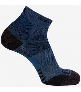 Salomon Socks Outpath Low Navy Blue - Socks Running